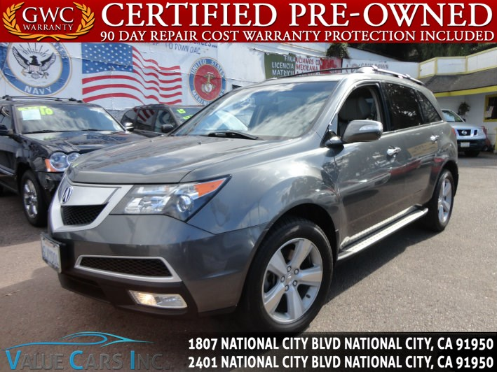 sold 2010 acura mdx in national city