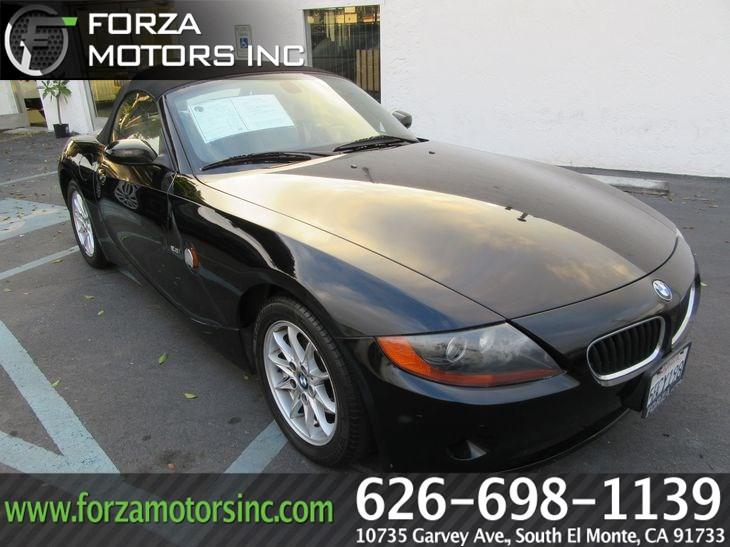 Sold 2003 BMW Z4 2.5i in South El Monte