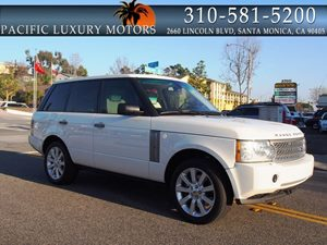 View 2008 Land Rover Range Rover