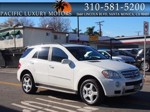 View 2008 Mercedes-Benz ML550 4 MATIC AMG PKG w/ Navigation