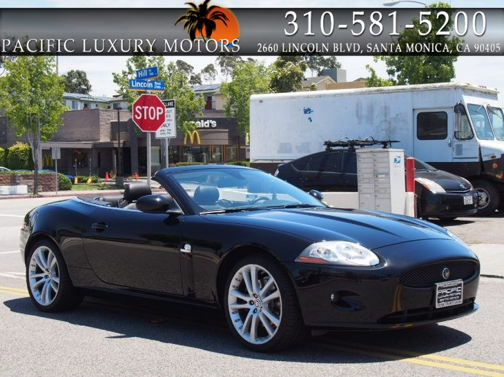 Jaguar Santa Monica >> Used 2008 Jaguar Xk Convertible W Aluminum Luxury Pkg In