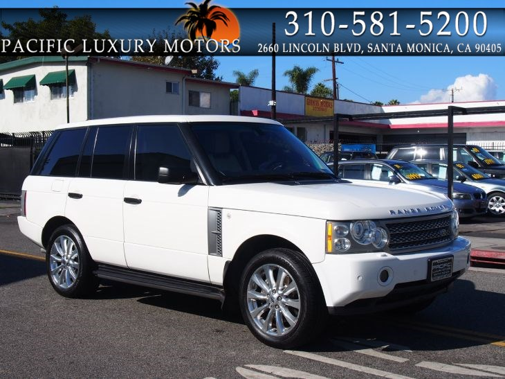2009 Land Rover Range Rover SC w/ LUXURY PKG & REAR DVD