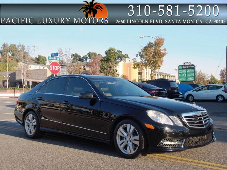 2013 Mercedes-Benz E 350 BlueTEC Sport PKG Sedan w/ NAVIGATION