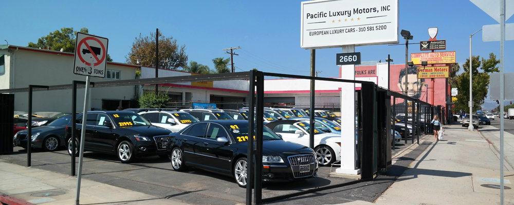 Pacific Luxury Motors Used Cars In Santa Monica Santa Monica