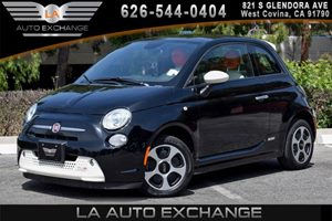 2013 FIAT 500e BATTERY ELECTRIC  Carfax 1-Owner - No AccidentsDamage Reported 0 Cylinders Air C
