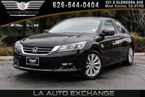2014 Honda Accord Sedan EX-L Carfax 1-Owner 2 12V Dc Power Outlets 4 Cylinders Air Conditioning