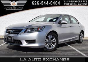 2014 Honda Accord Sedan LX Carfax 1-Owner 2 12V Dc Power Outlets 4 Cylinders 4-Way Passenger Se