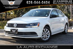 2015 Volkswagen Jetta Sedan 18T SE Carfax 1-Owner 1 Seatback Storage Pocket 2 12V Dc Power Outl