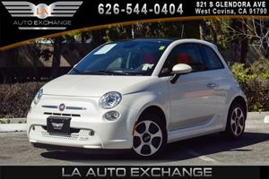 2015 FIAT 500e  Carfax 1-Owner - No AccidentsDamage Reported 0 Cylinders 1 12V Dc Power Outlet