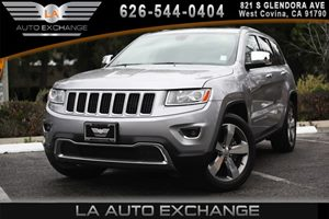 2014 Jeep Grand Cherokee Limited Carfax 1-Owner 2 Seatback Storage Pockets 6 Cylinders Air Cond