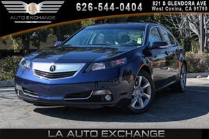2014 Acura TL Tech Carfax 1-Owner 2 12V Dc Power Outlets 6 Cylinders Air Conditioning  AC Ai