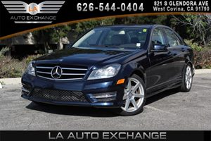 2014 MERCEDES C250 Luxury Sedan Carfax 1-Owner - No AccidentsDamage Reported 2 12V Dc Power Outl