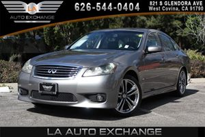 2008 INFINITI M35  Carfax 1-Owner - No AccidentsDamage Reported 6 Cylinders Air Conditioning