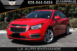 2015 Chevrolet Cruze LTZ Carfax 1-Owner - No AccidentsDamage Reported 4 Cylinders Air Condition