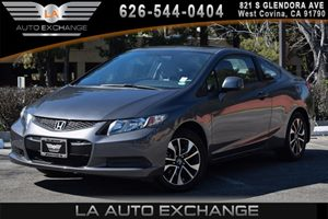 2013 Honda Civic Cpe EX Carfax 1-Owner 4 Cylinders Air Conditioning  AC Audio  AmFm Stereo