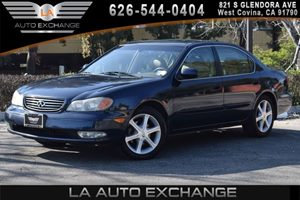2002 INFINITI I35 Luxury Carfax Report - No AccidentsDamage Reported 6 Cylinders Air Conditioni
