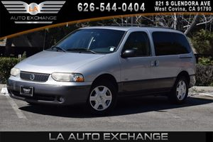 2001 Mercury Villager Sport Carfax Report - No AccidentsDamage Reported 6 Cylinders Air Conditi