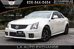 2013 Cadillac CTS-V Sedan  Carfax Report - No AccidentsDamage Reported 8 Cylinders Air Conditio