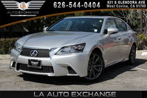 2013 Lexus GS 350 F Sport Carfax 1-Owner - No AccidentsDamage Reported 1-Piece FrontRear Color-
