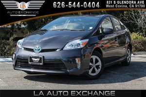 2014 Toyota Prius Three Carfax 1-Owner 2 12V Dc Power Outlets 4 Cylinders Air Conditioning  A