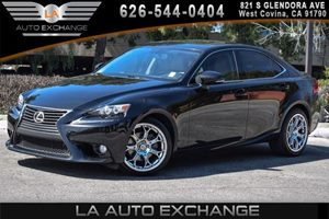 2014 Lexus IS 250  Carfax 1-Owner 6 Cylinders Air Conditioning  AC Audio  Cd Player Displac
