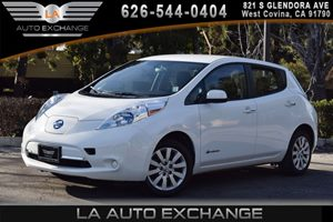 2013 Nissan LEAF S Carfax 1-Owner - No AccidentsDamage Reported 0 Cylinders 12V Pwr Outlet Air