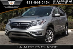 2015 Honda CR-V EX Carfax 1-Owner 2 12V Dc Power Outlets 2 Seatback Storage Pockets 4 Cylinders