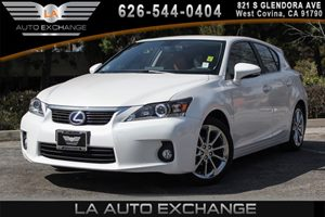 2013 Lexus CT 200h Hybrid Carfax 1-Owner - No AccidentsDamage Reported 4 Cylinders Air Conditio