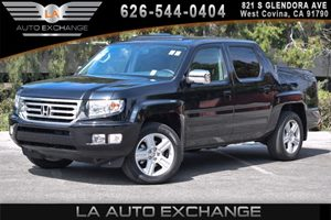 2013 Honda Ridgeline RTL Carfax 1-Owner 6 Cylinders Air Conditioning  AC Audio  AmFm Stereo