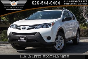 2015 Toyota RAV4 LE Carfax 1-Owner 2 12V Dc Power Outlets 4 Cylinders Air Conditioning  AC A