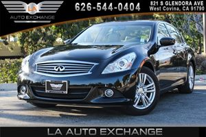 2013 INFINITI G37 Sedan Journey Carfax 1-Owner - No AccidentsDamage Reported 2 Rear Seat Coat