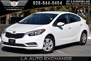 2016 Kia Forte LX Carfax 1-Owner - No AccidentsDamage Reported 4 Cylinders Air Conditioning  A