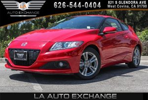 2013 Honda CR-Z EX Carfax 1-Owner 4 Cylinders Audio  Auxiliary Audio Input Body-Color Door Han