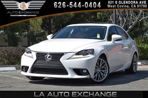 2015 Lexus IS 250  Carfax 1-Owner 2 12V Dc Power Outlets 6 Cylinders Air Conditioning  AC Au