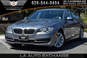 2014 BMW 5 Series 528i Carfax Report 2 Seatback Storage Pockets 4 Cylinders Air Conditioning