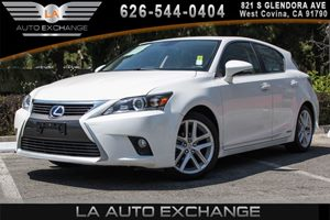 2015 Lexus CT 200h Hybrid Carfax 1-Owner - No AccidentsDamage Reported 4 Cylinders Air Conditio