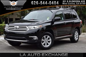 2013 Toyota Highlander  Carfax 1-Owner - No AccidentsDamage Reported 6 Cylinders Air Conditioni