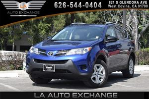 2014 Toyota RAV4 LE Carfax 1-Owner - No AccidentsDamage Reported 4 Cylinders Audio  AmFm Ster