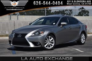 2015 Lexus IS 250  Carfax 1-Owner 2 12V Dc Power Outlets 6 Cylinders Air Conditioning  AC Ai
