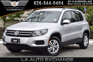 2016 Volkswagen Tiguan S Carfax 1-Owner 4 Cylinders Air Conditioning  AC Audio  AmFm Stereo