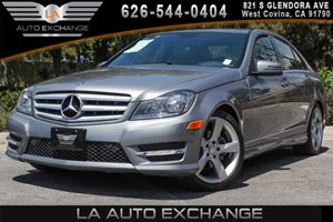 2014 MERCEDES C250 Luxury Sedan Carfax 1-Owner 4 Cylinders Air Conditioning  Multi-Zone AC An