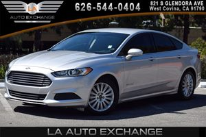 2015 Ford Fusion SE Hybrid Carfax 1-Owner 4 Cylinders Air Conditioning  AC Air Conditioning