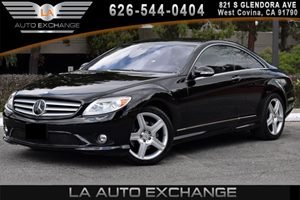 2007 MERCEDES CL550 Coupe Carfax 1-Owner - No AccidentsDamage Reported 8 Cylinders Air Conditio