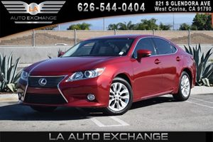 2014 Lexus ES 300h Hybrid Carfax 1-Owner - No AccidentsDamage Reported 4 Cylinders Air Conditio