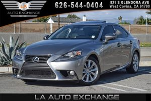 2014 Lexus IS 250  Carfax 1-Owner 6 Cylinders Air Conditioning  AC Audio  AmFm Stereo Clea