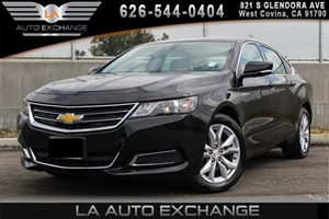 2017 Chevrolet Impala LT Carfax 1-Owner 4 Cylinders Air Conditioning  AC Air Conditioning  C