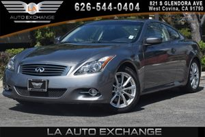 2013 INFINITI G37 Coupe Journey Carfax 1-Owner 6 Cylinders Air Conditioning  AC Analog Clock