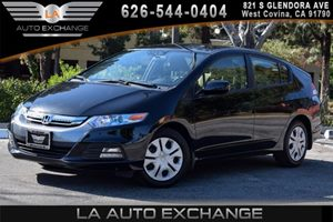 2014 Honda Insight LX Carfax 1-Owner - No AccidentsDamage Reported 4 Cylinders Air Conditioning