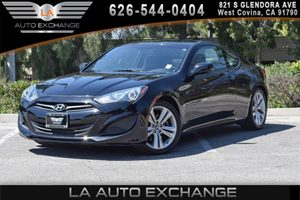 2013 Hyundai Genesis Coupe 20T Carfax 1-Owner 2 Aux Pwr Outlets 4 Cylinders Air Conditioning