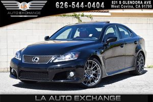 2013 Lexus IS F  Carfax 1-Owner 8 Cylinders Air Conditioning  AC Audio  AmFm Stereo Conven